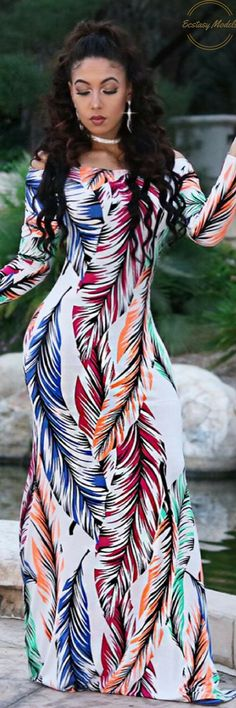 Beautiflul Dress by  @classychickscouture // Fashion Look by Brooke Hall