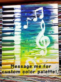 Abstract Music by WhatComesToMind on Etsy