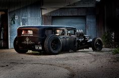 Chopped - Ford Model A Rat Rod