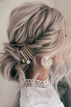 Updos For Medium Length Hair, Up Dos For Medium Hair, Medium Hair Styles, Short Hair Styles, Buns For Long Hair, Long Hair Updos, Bridesmaid Hair Medium Length, Wedding Hairstyles For Medium Hair, Cute Hairstyles Updos
