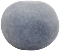 CompoClay F-1001S-SSS-18 Pebble Stool, Small, Medium Grey