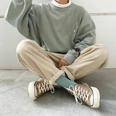 Indie Outfits, Teen Fashion Outfits, Retro Outfits, Vintage Outfits, Teenage Boy Fashion, 80s Fashion Men, Korean Fashion Men, Grunge Outfits, Stylish Mens Outfits