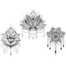 """Résultat de recherche d'images pour """"lotus tatouage"""""""