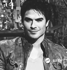 ian gif. Panty dropper lip bite + smile. sigh