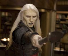 Prince Nuada...God I love it when he points his thing....hahaha:)