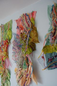42 Ideas fashion collage fabric textile art for 2019 Textile Texture, Textile Fiber Art, Textile Fabrics, Textile Artists, Fabric Art, Fabric Crafts, Scrap Fabric, Fabric Panels, Creative Textiles