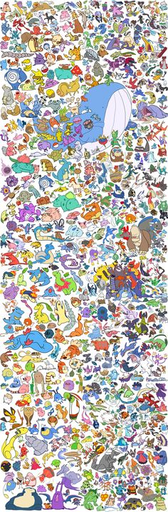All the Pokemon