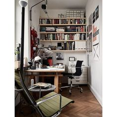 Most Design Ideas Scandinavian Home Office Design Ideas Pictures, And Inspiration – Modern House Small Home Offices, Home Office Space, Home Office Desks, Small Office, Office Furniture, Interior Design Inspiration, Home Interior Design, Design Ideas, Design Blog