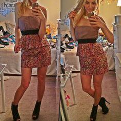 Hp Strapless Dress:)