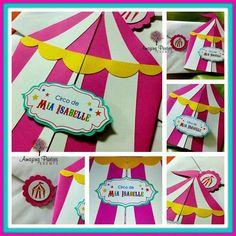 Invitacion circo carnaval
