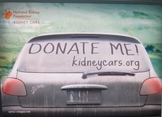 What would the national kidney foundation like you to donate?