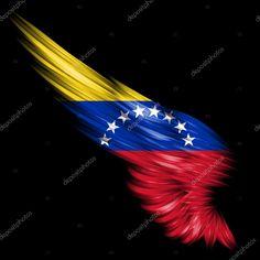 Venezuela Tattoo, Venezuela Flag, Sam Cannon, Orisha, Pin Collection, Wings, Stock Photos, Anime, Movie Posters