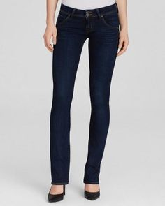 Hudson Jeans Beth Baby Boot Jeans 26 Blue RXD $189 FTC #4232