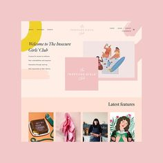 One of my favourite website project of the year is this one from Such an amazing space packed with great articles and don't get me started on the pink and yellow pastel colour palette 💖💛⠀⠀⠀⠀⠀⠀⠀⠀⠀ ⠀⠀⠀⠀⠀ design Branding & Website Design Portfolio Portfolio Design Layouts, Portfolio Website Design, Website Design Layout, Web Layout, Layout Design, Branding Portfolio, Portfolio Web Design, Design Portfolios, Design Design