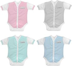 Poogy Bear Front Opening Summer Body Vests, Pink, Grey, Teal/Mint, and Blue. Baby Sizes NB, 0-3,3-6,6-12,12-18 months 100% cotton Pink Grey, Teal, Blue, Summer Body, Baby Size, New Parents, 18 Months, Vests, Cotton Fabric