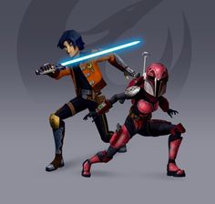 Which one are you? Sabine Wren, or Ezra Bridger? You can find out by taking this quiz!
