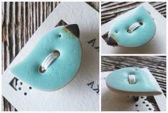 ceramic buttons / ceramiczny guzik facebook.com/ceramikashe