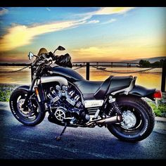 1997 Yamaha V-Max on the Bay of Quinte in Belleville, Ontario.