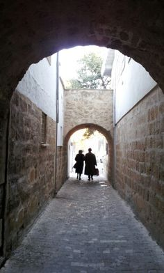 In the old city