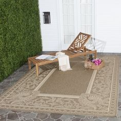 Shop for Safavieh Indoor/ Outdoor Abaco Brown/ Natural Rug (5'3 x 7'7). Get free shipping at Overstock.com - Your Online Home Decor…