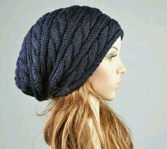 Free pattern friday favorite knit slouchy hat by jamie sande need navy hat knitters xs slouch hat knitting pattern dt1010fo