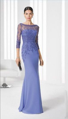 Cheap 2018 Mermaid Mother's Dress For Ladies Womens Sleeves Appliques Bateau Mother of Bride Dresses Wedding Party Formal Evening Gowns Mob Dresses, Tea Length Dresses, Trendy Dresses, Dresses With Sleeves, Cheap Dresses, Summer Dresses, Fashion Dresses, Short Sleeves, Evening Dresses Online