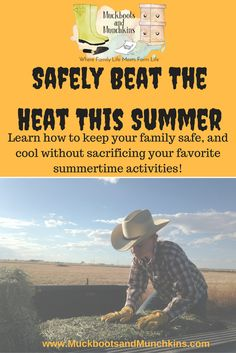 The dog days of summer are fast approaching. The heat of summer can be dangerous, learn how to safely enjoy the summer, or work outside during these hot days. Protect yourself and your family from these dangers. 4 H Club, Raising Backyard Chickens, Emergency Preparation, Beat The Heat, Fruit In Season, Grow Your Own Food, Hot Days, Farm Life, Homemaking