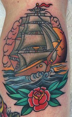 Dan Smith || #americana #traditionaltattoos #tattoos