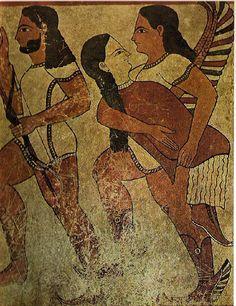 Etruscan fresco |