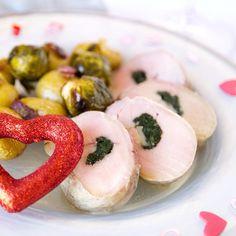 Fitness plněná panenka - zdravý recept Bajola Valentýn Sushi, Shrimp, Diet, Ethnic Recipes, Fitness, Lasagna, Gymnastics, Loosing Weight, Rogue Fitness