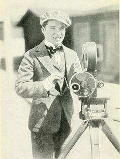 Chaplin behind the camera