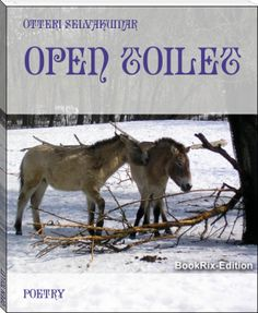> OPEN TOILET < this some of my new way poems book