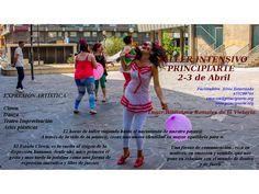 Taller intensivo de PRINCIPIARTE en Cantabria. Clown, Danza y Teatro de Improvisación. 2 y 3 de Abril en la Fundación Orense. Interesados en participar llamar al 655 200 764 http://www.principiarte.org/