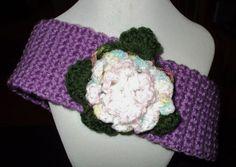 Hand Crochet Headband or Ear Warmer with Hand by redbudcrafts, $10.00