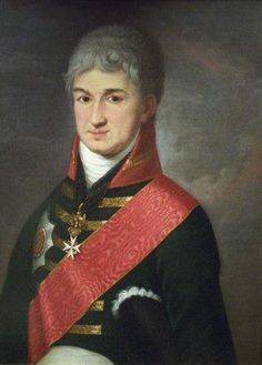 Nikolai Rezanov  http://en.wikipedia.org/wiki/Rezanov