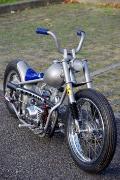 Mini Chopper, Chopper Bike, Custom Bobber, Custom Bikes, Minibike, Honda Cub, Motorized Bicycle, Cafe Racer Bikes, Mv Agusta