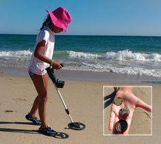 Amazon.com : Bounty Hunter BHJS Junior Metal Detector : Hobbyist Metal Detectors : Garden & Outdoor