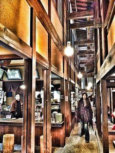 Sake brewery,hidatakayama,japan