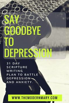 What do you do when depression strikes? Next time try writing out these scriptures in your prayer journal to battle depression. A mobile war room!