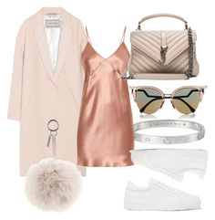 """""""#Look:313"""" by dollarwomanlux ❤ liked on Polyvore featuring By Malene Birger, Cartier, Fleur du Mal, Jil Sander, Yves Saint Laurent and Fendi"""