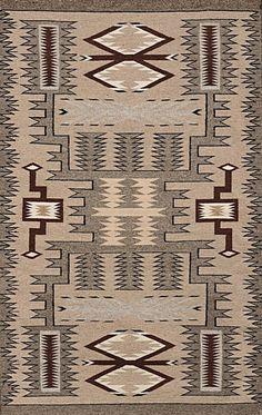 Navajo Rug, Storm Pattern Rug, Native American Rug, Wool Navajo Rugs, Navajo Weaving, Southwestern Rug, #674