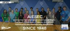 Original AIESEC in GIKI promotional poster