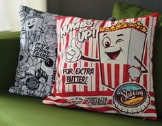 """Check out this @Behance project: """"Popcorn Pillow"""" https://www.behance.net/gallery/17994515/Popcorn-Pillow"""
