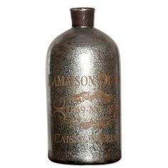 Bottles 36016: Uttermost 19752 Silver Mercury Glass With Brass Wire Lamaison Large Mercury -> BUY IT NOW ONLY: $160.6 on eBay!