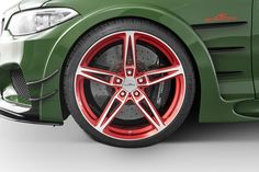 Much like Porsche with its syndrome, BMW wants to keep a… Truck Wheels, Wheels And Tires, Bmw F22, Bmw M235i, Mustang Wheels, Wheel Logo, Ac Schnitzer, Bmw Autos, Car Posters
