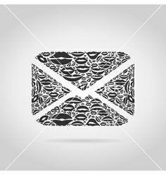 Letter from lips vector - by aleksander1 on VectorStock®