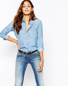 a239e48f60 149 Best Women s Denim Shirts   Dresses images