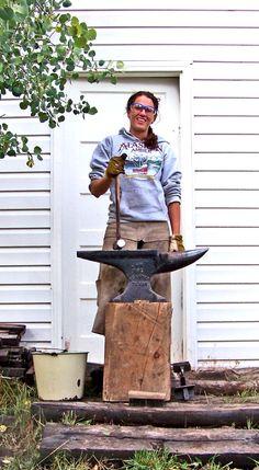 Alexandra Paliwoda - The Backcountry Blacksmith