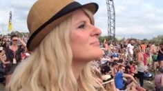 BBC Radio 5 live capture the moment a woman, who has been deaf all her life, listen to live music at Glastonbury, after getting her hearing back.