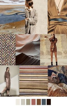 S/S 2017 COLORS TREND: EARTH TONE: